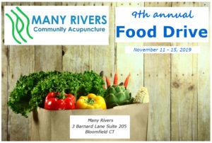 2019 Food Drive at Many Rivers