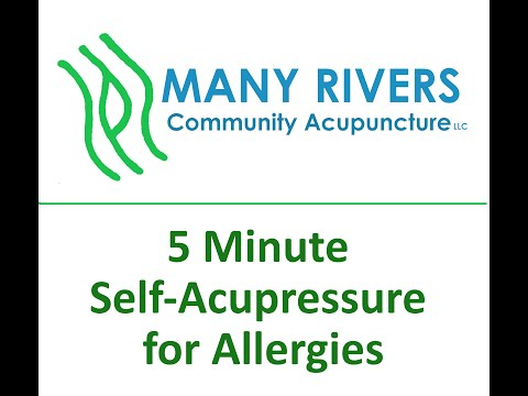 5 Minute Acupressure for Seasonal Allergies