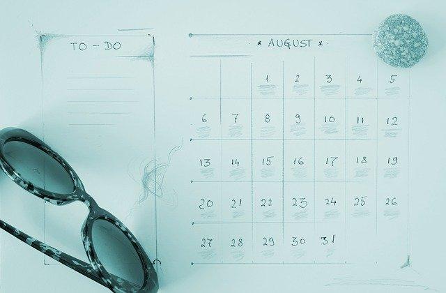 August schedule is OPEN!