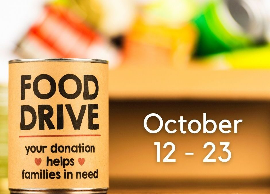 Donate food and win free acupuncture!