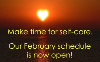 Our February schedule is open!