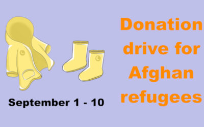 Donation Drive for Afghan Refugees